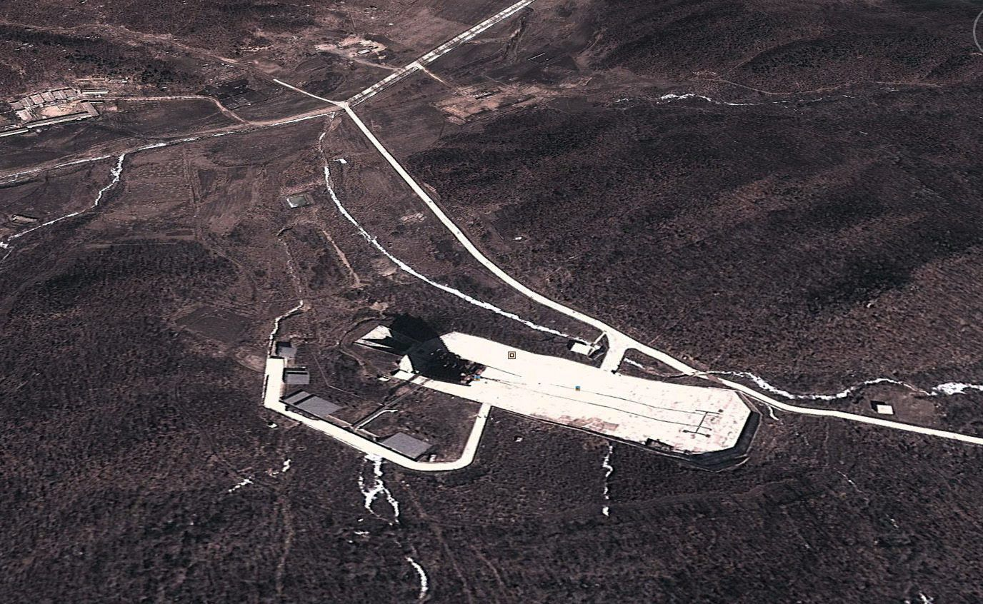 Dongchang-ri / Raketen-Startbahn / Nordkorea