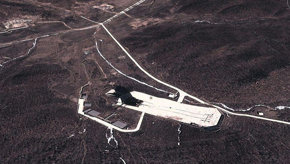 """Raketenbasis Tongchang-ri: """"Technische Mängel"""""""