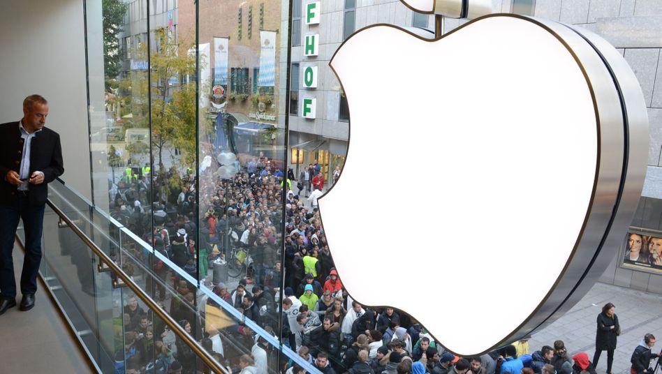 Verkaufsstart in München: Im September war das iPhone 5 noch heiß begehrt