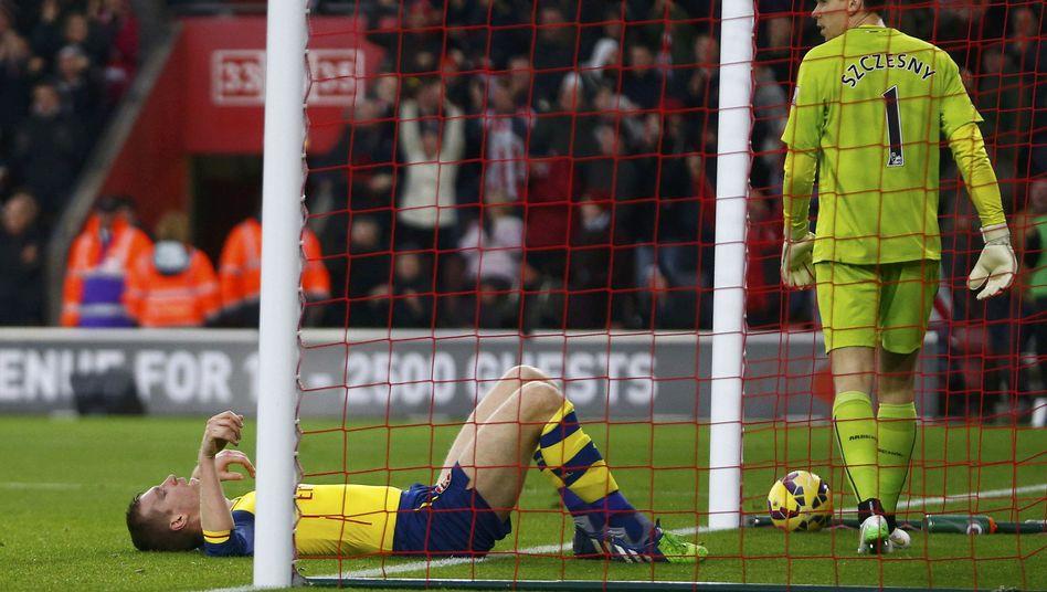 Nationalspieler Mertesacker: Niederlage in Southampton