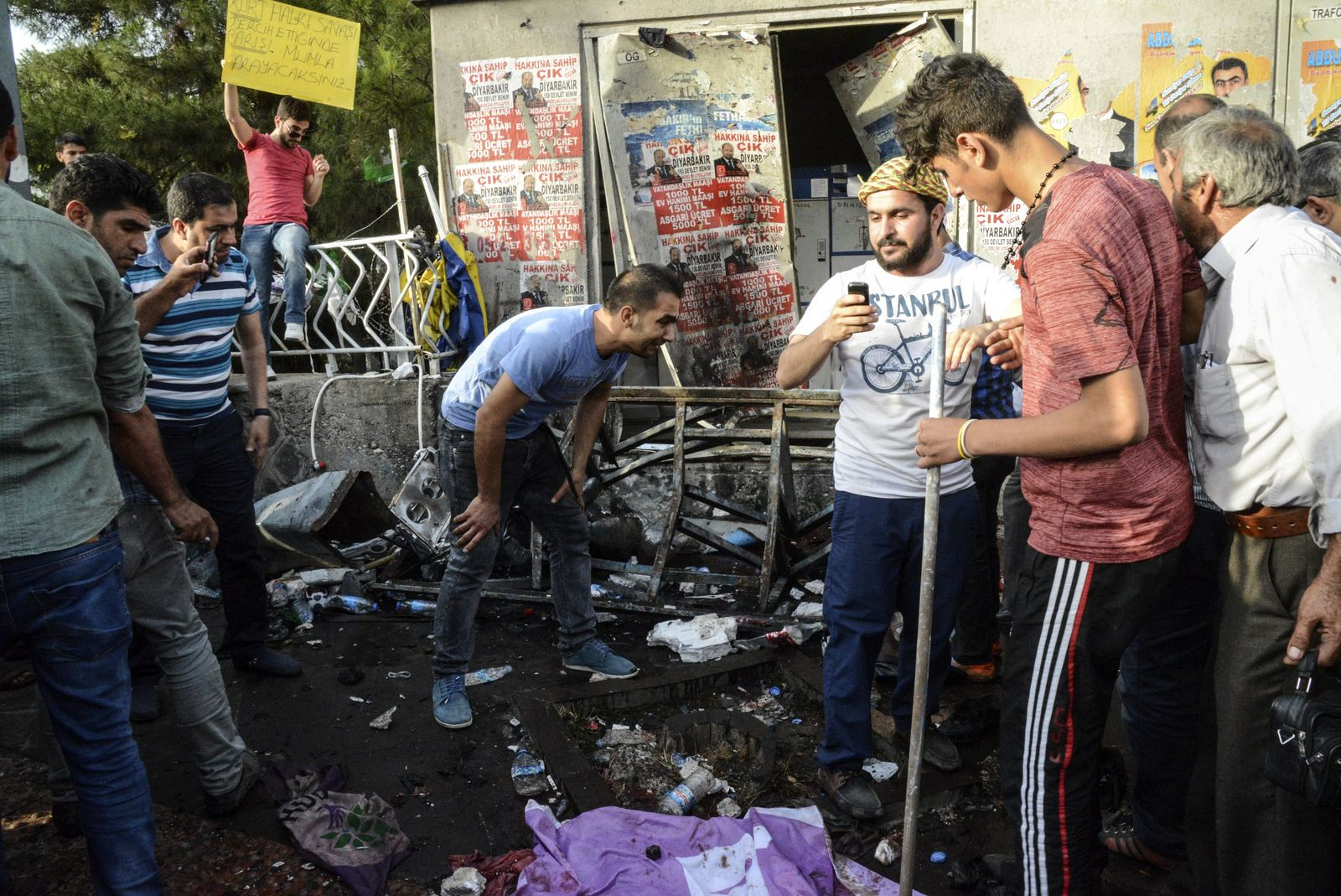 Türkei/ Diyarbakir/ Anschlag
