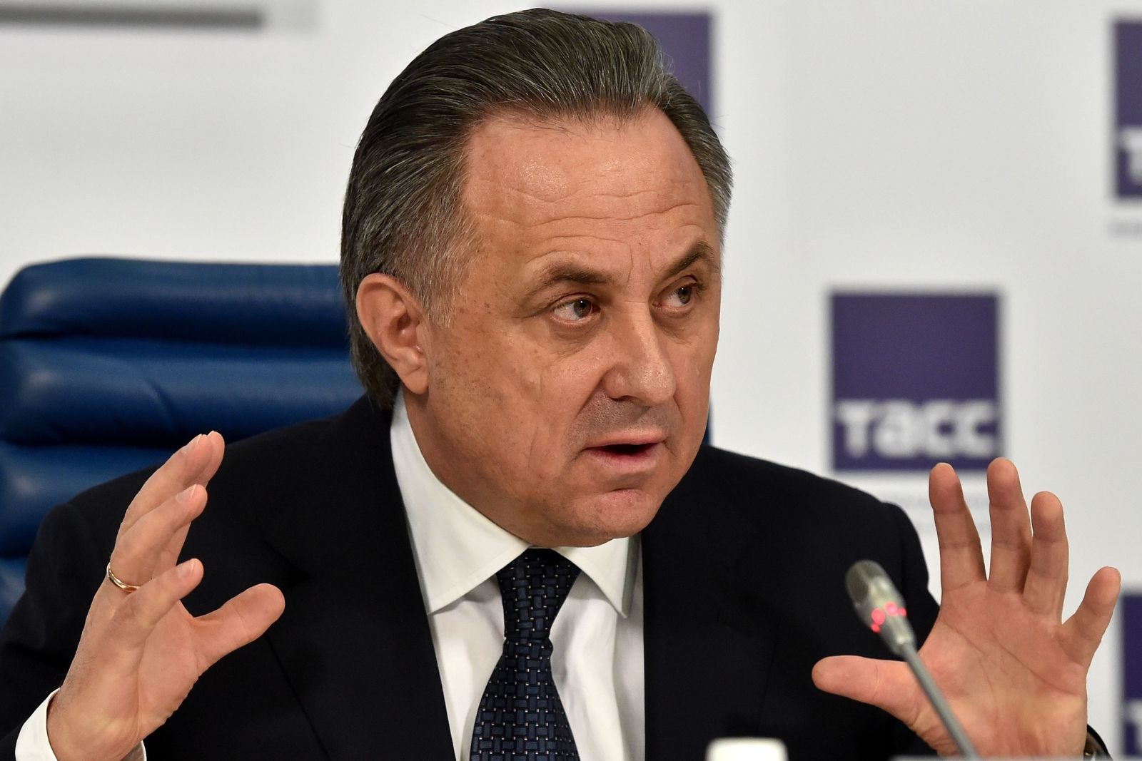 FILES-RUSSIA-ATHLETICS-DOPING-SPORT-MUTKO