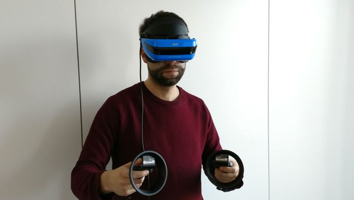 Neues Headset: Das ist Acers Mixed-Reality-Brille