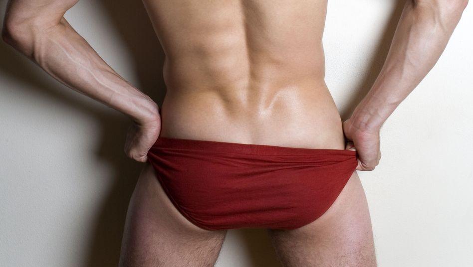 Rote Unterwäsche - bringt Glück