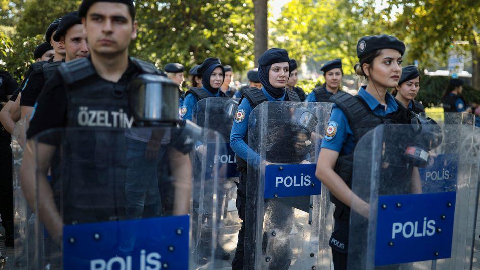 Türkische Polizei (Symbolbild)