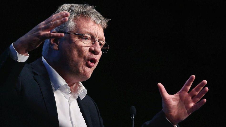 """AfD-Chef Meuthen:""""Weil ich Jörg Guck-in-die-Luft bin"""""""