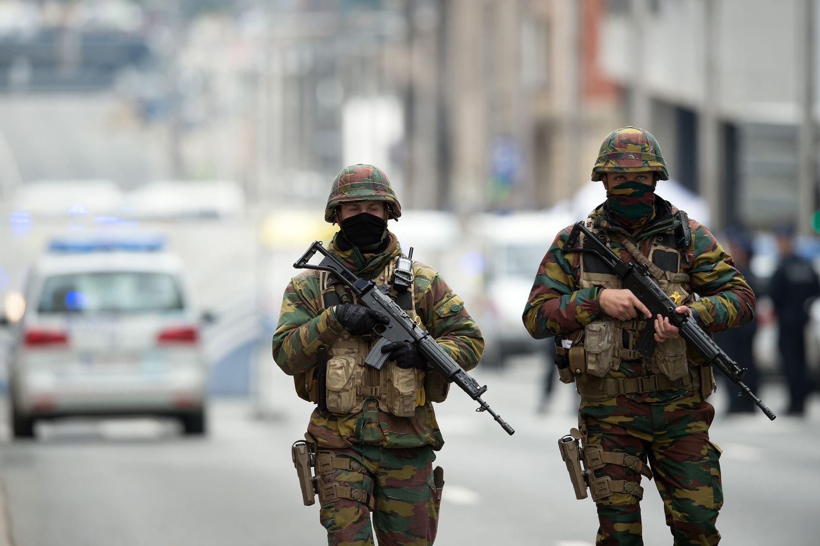 Anschläge in Brüssel / Sicherheitskräfte