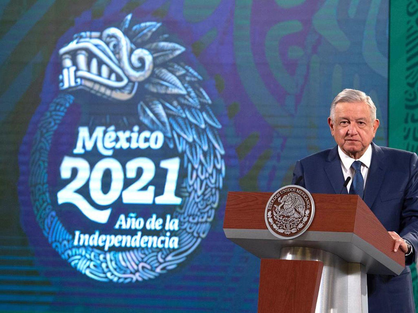 Mexican President Andres Manuel Lopez Obrador press conference, Mexico City - 06 Jan 2021