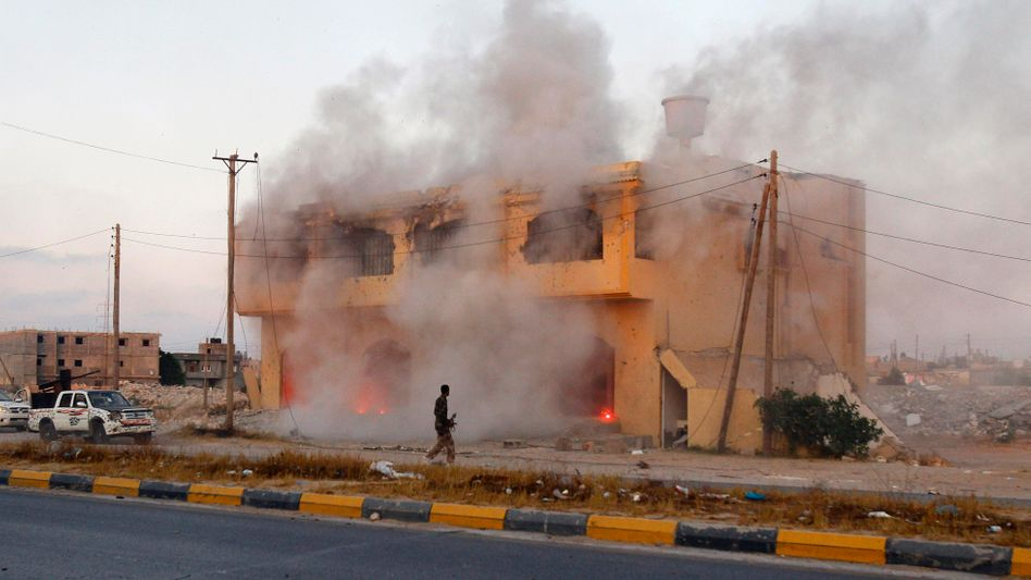 Libyen-Krieg: Rebellen sprechen von 50.000 Toten