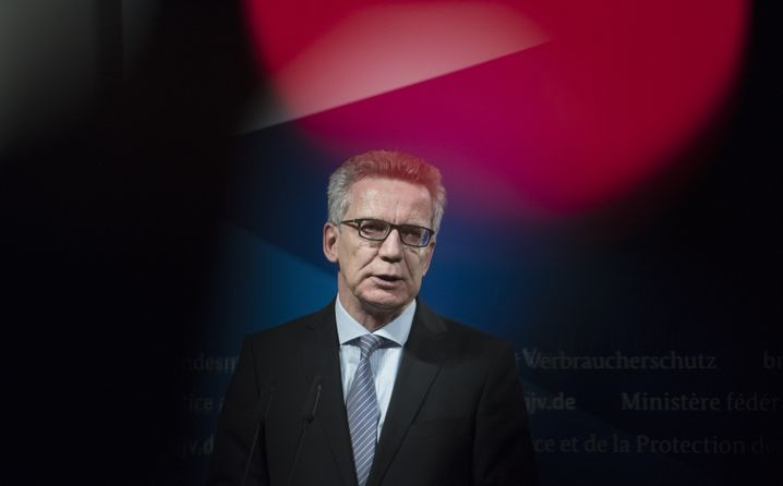 Minister Thomas de Maizière