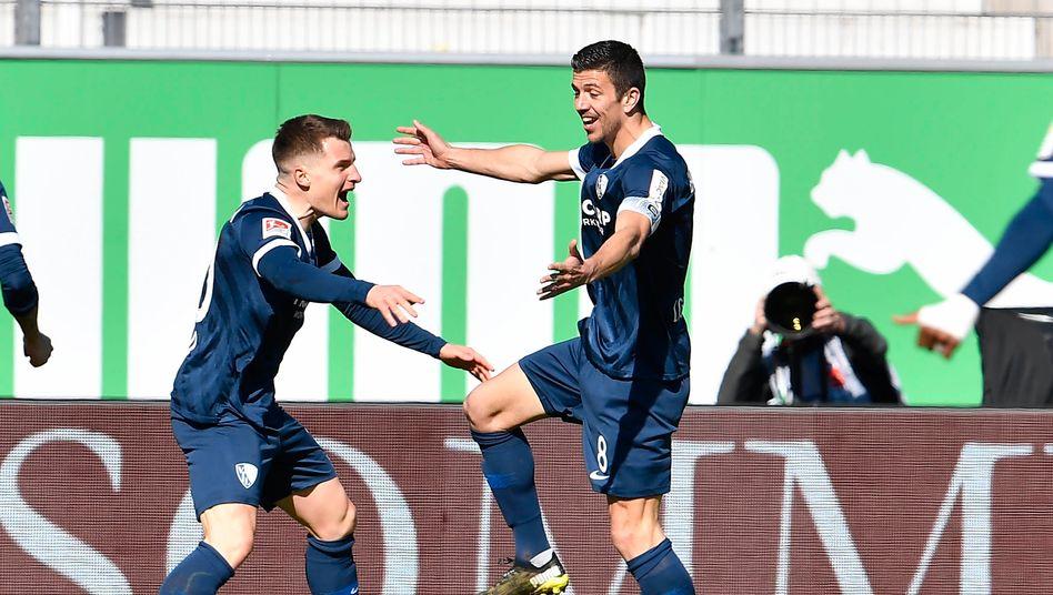 Bochum rückt dem Erstliga-Aufstieg näher