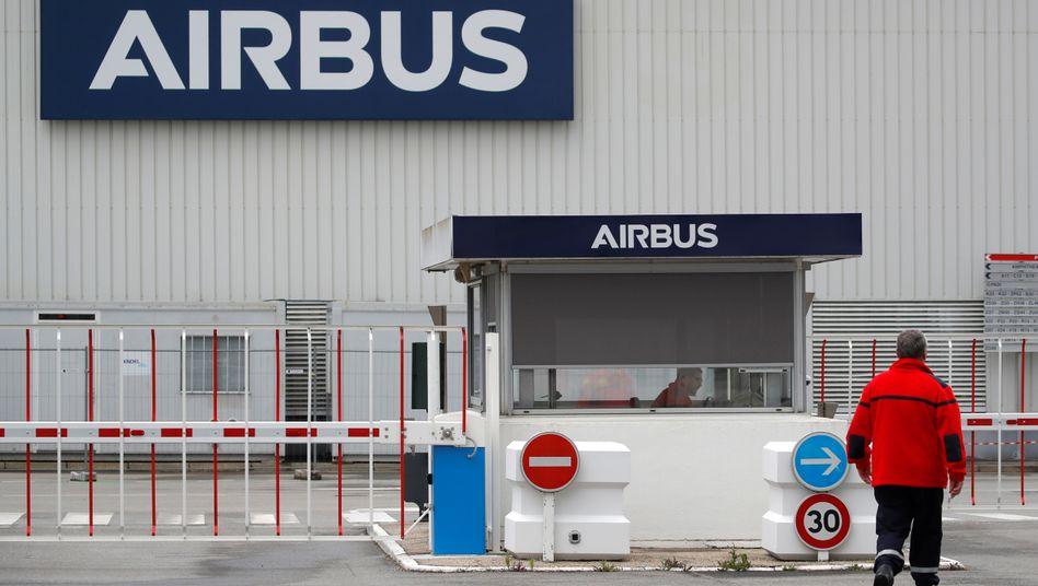 Airbus-Werk in Nantes