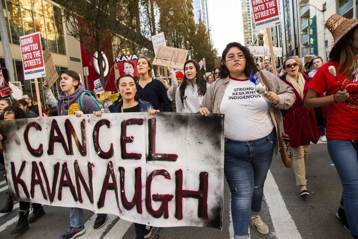 Protest gegen Kavanaugh in Seattle