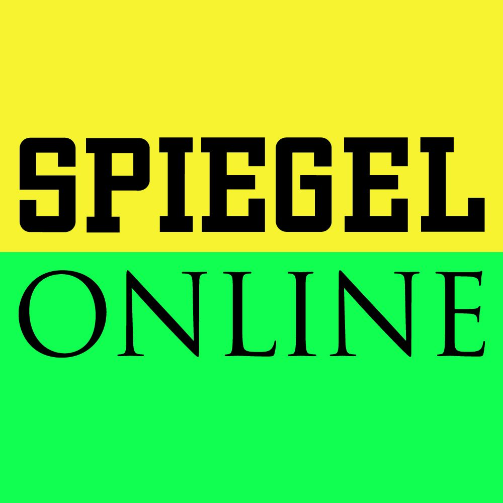 EINMALIGE VERWENDUNG - Logo SPON - Neongrün/Neongelb
