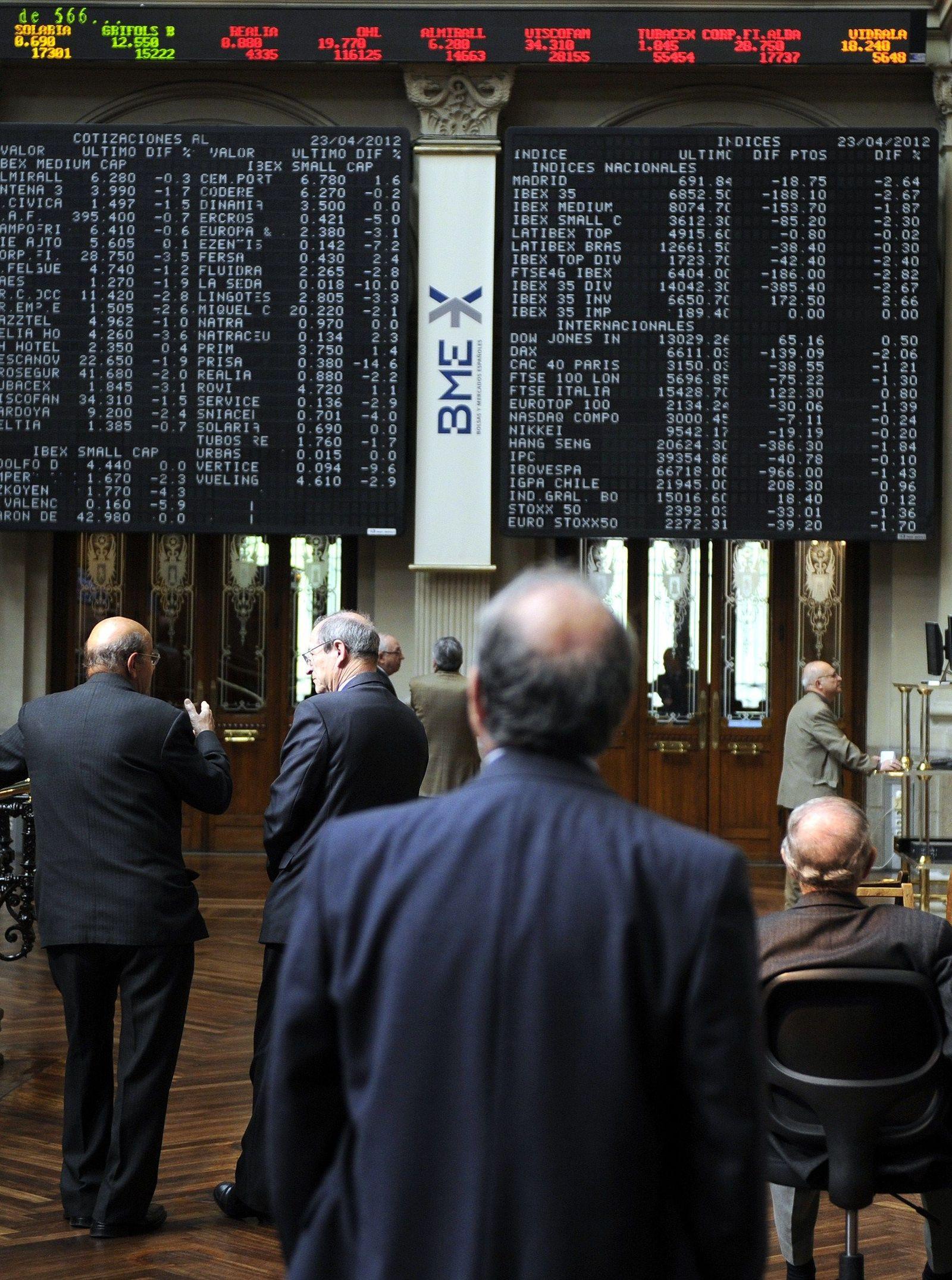 Börse Madrid/ Spanien