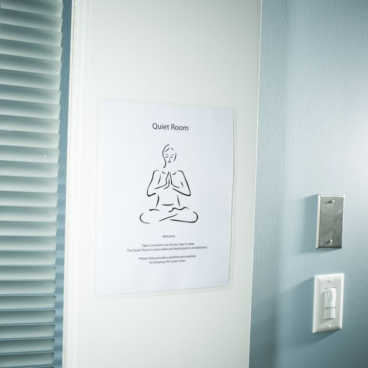 Meditationsraum bei Facebook: Distanz bringen zwischen das Ich und die Firma
