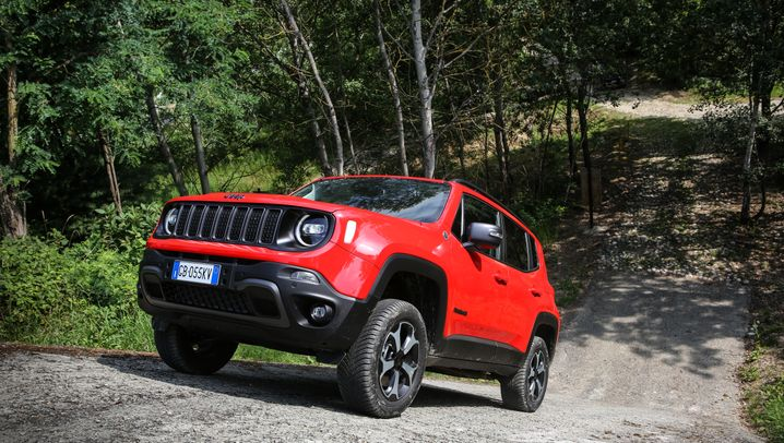 Jeep Renegade 4Xe — Offroader mit E-Unterstützung