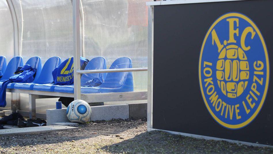 Gelände des FC Lokomotive Leipzig