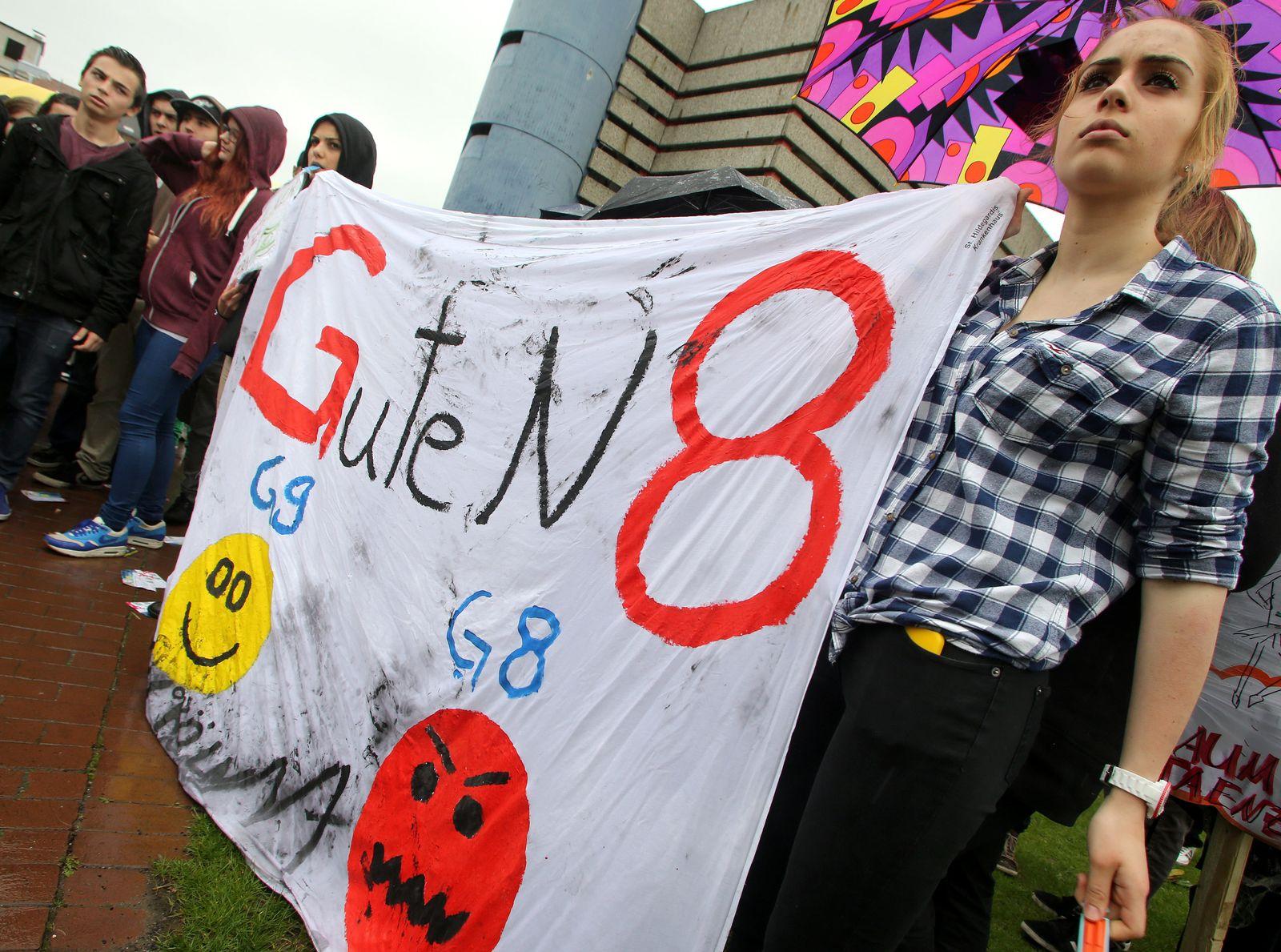 Schüler-Demo gegen G8