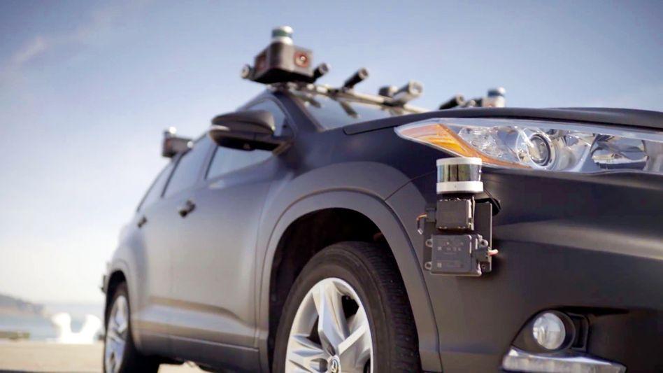 Selbstfahrendes Auto (Symbolbild)