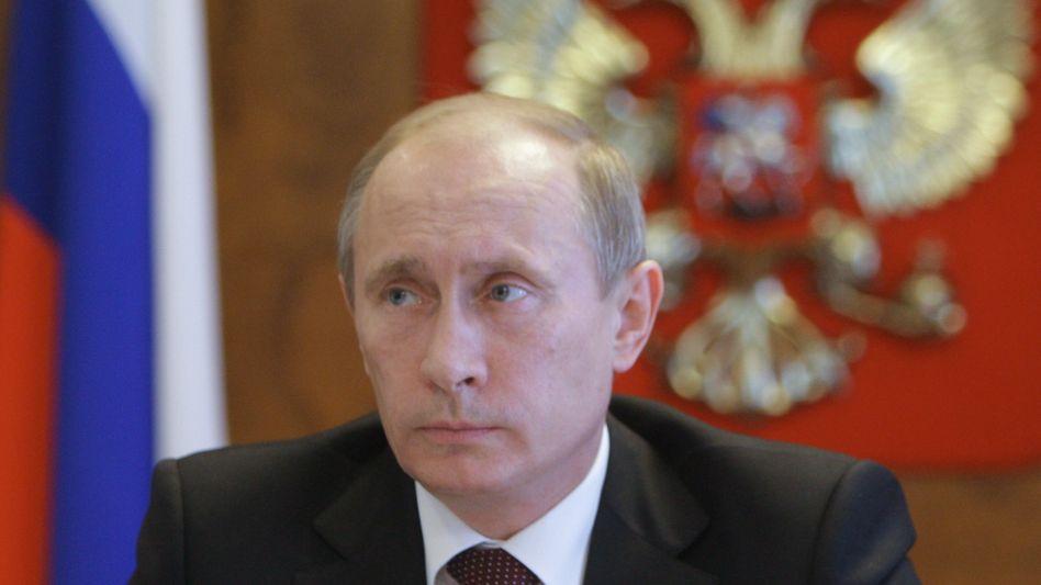 """Russlands Ministerpräsident Putin: """"Eine neue Industrialisierungswoge rollen lassen"""""""
