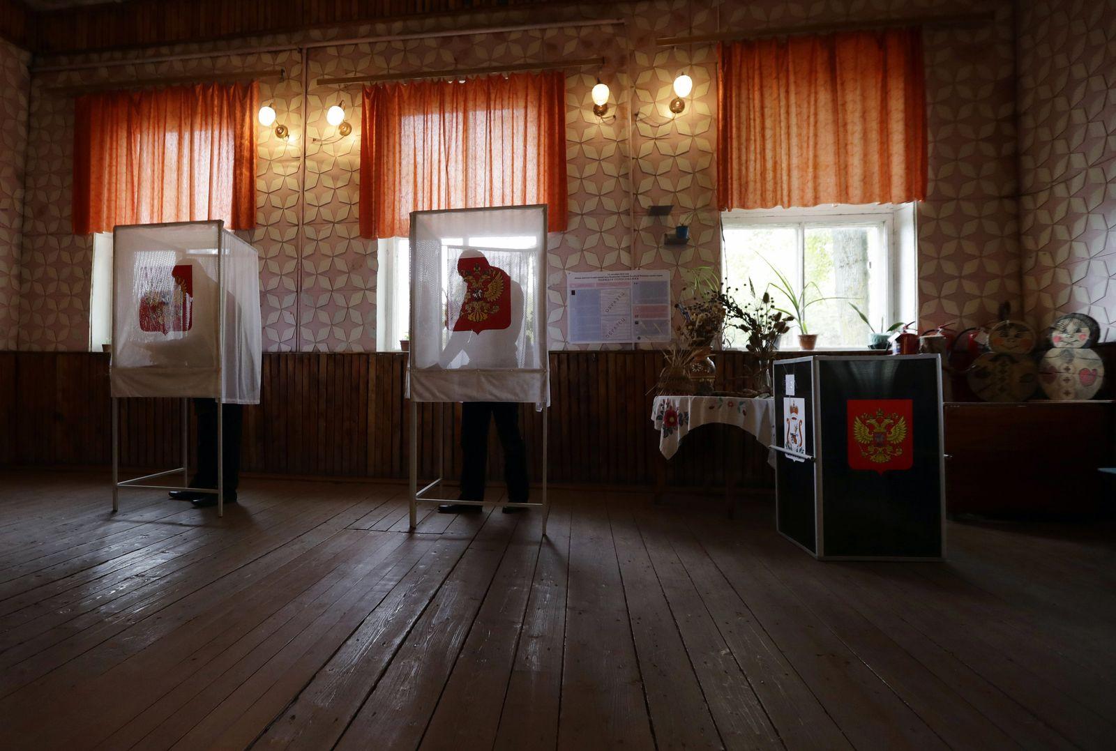 Russland/ Wahl / Gusino