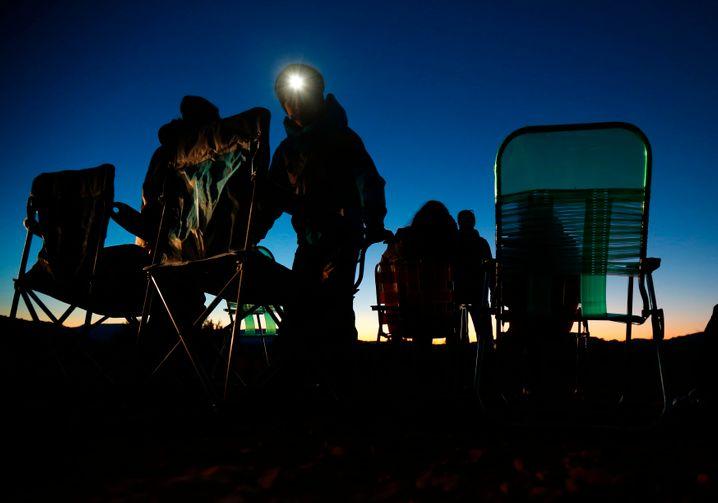 Ufo-Beobachter in Arizona (2013)