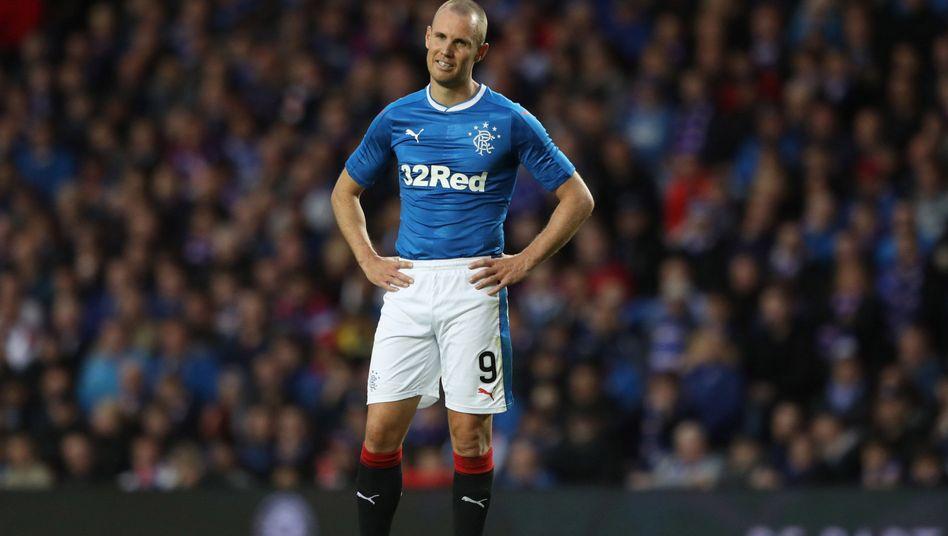 Rangers-Profi Kenny Miller (Szene aus dem Hinspiel)
