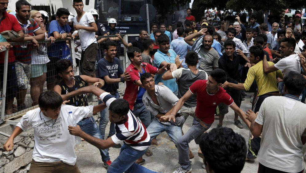 Flüchtlinge auf griechischer Insel: Anlaufpunkt Kos