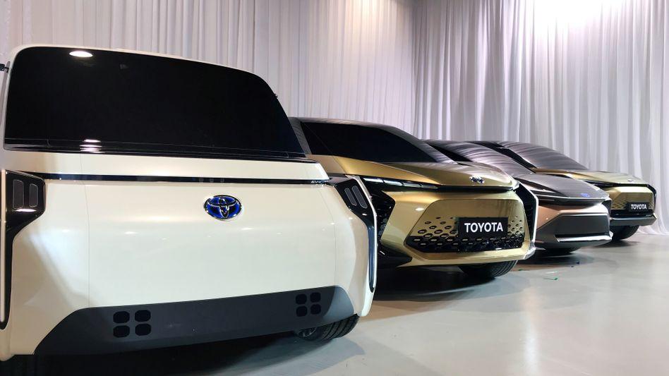 Elektro-Konzeptautos von Toyota Motor