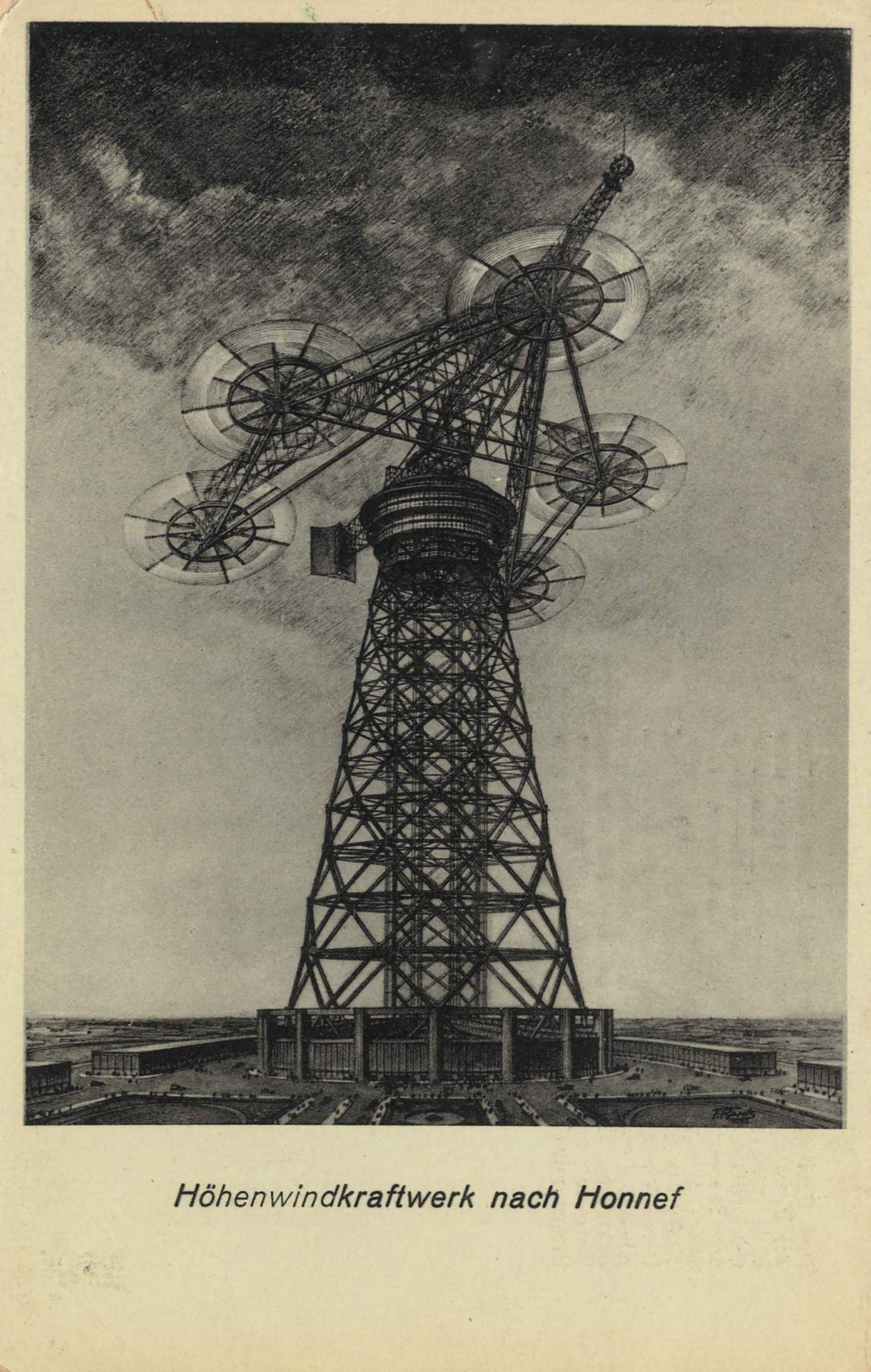 Windkraft Pioniere - Höhenwindkraftwerk nach Honnef