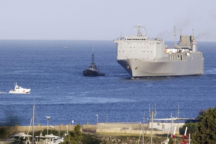 """US-Spezialschiff """"Cape Ray"""""""