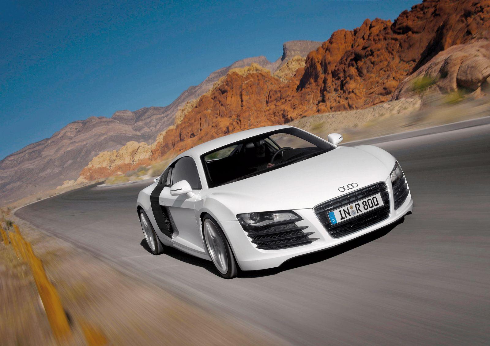 Audi R8 / Front
