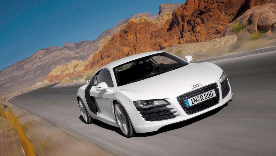 Sportwagen Audi R8: Vorsprung durch Technik? Nicht in der Radarfalle