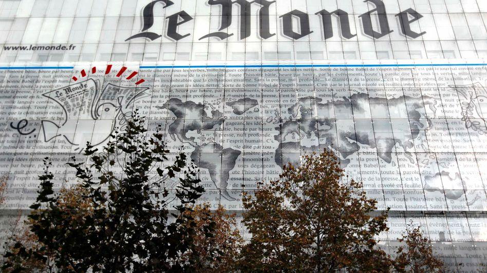"""Redaktionsgebäude von """"Le Monde"""" in Paris"""""""