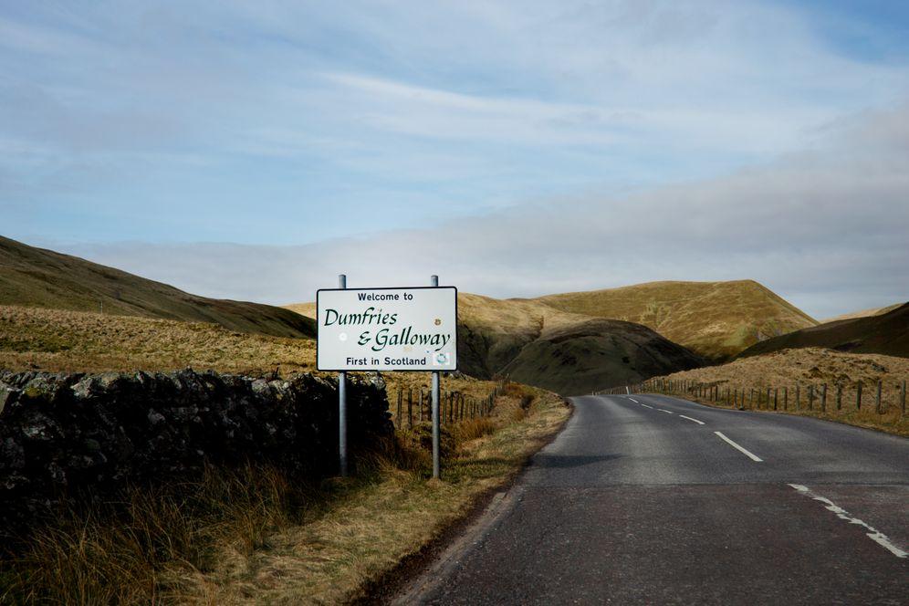 The border region Dumfries & Galloway