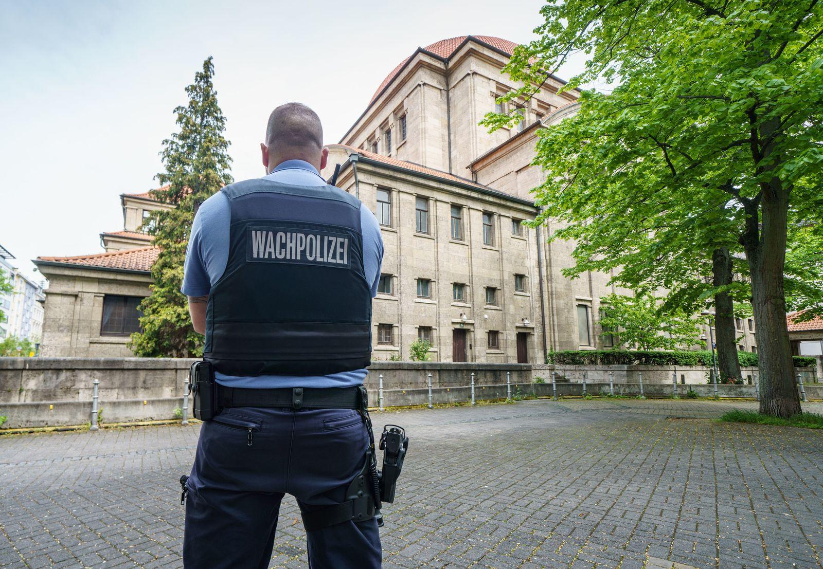 Schutz für Frankfurter Synagoge