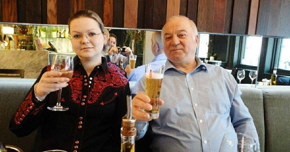 Julia und Sergej Skripal (Archivfoto von 2018)