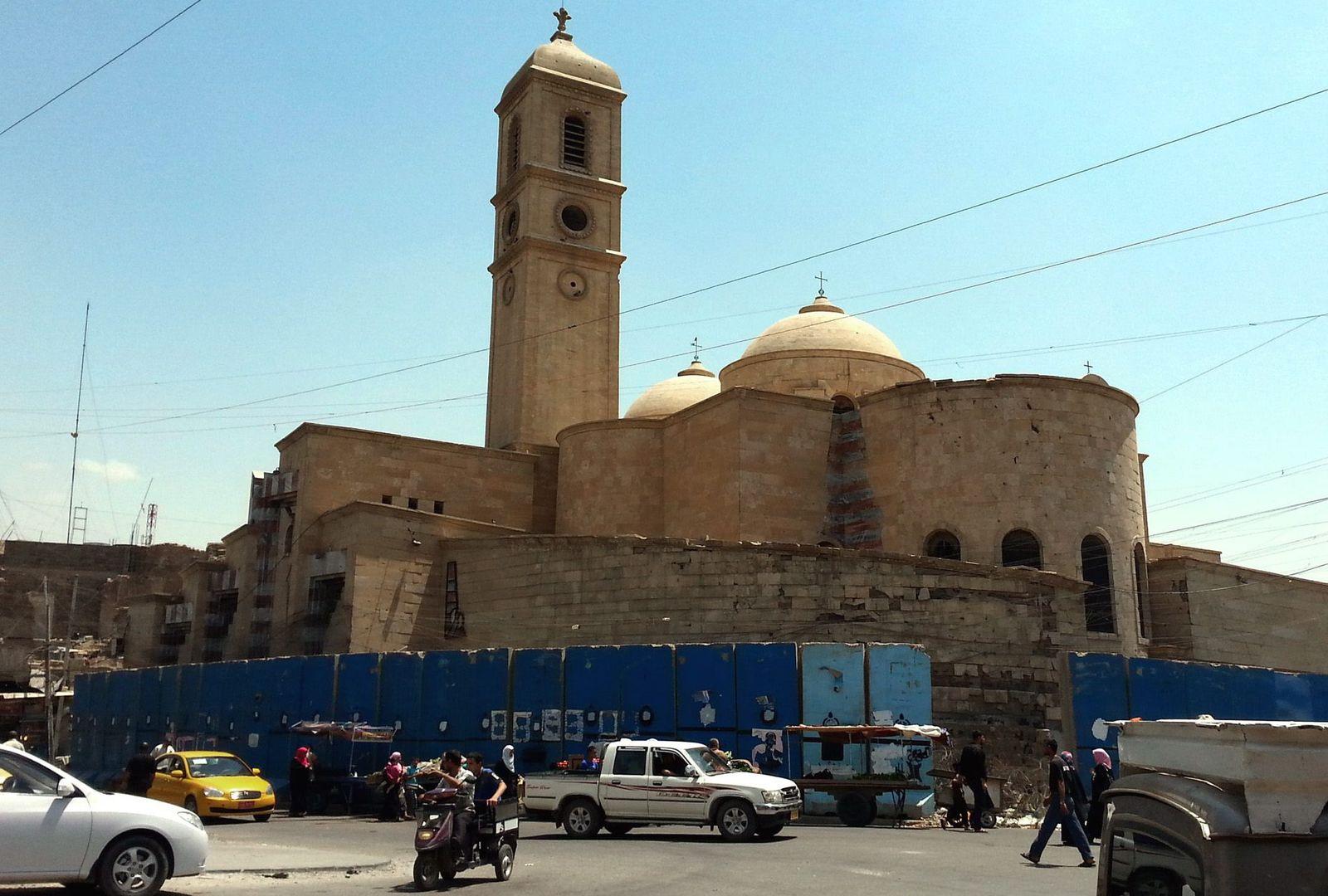 Christliche Kirche in Mossul
