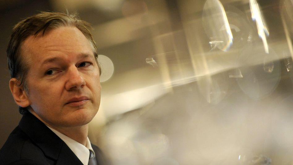 WikiLeaks-Gründer Assange: Seit Monaten unter Druck