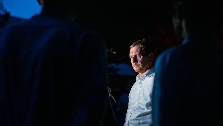 Sachsens CDU-Ministerpräsident: Kämpfen, Brutzeln, Schwitzen