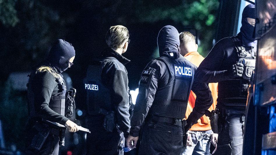 Berliner Polizei im Einsatz (Archiv)