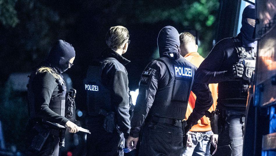 Razzia gegen Rocker in Berlin
