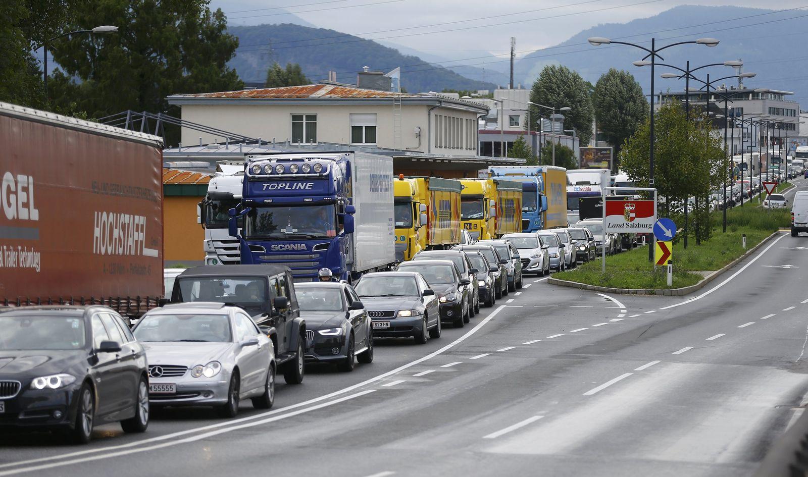 Grenzkontrolle Österreich / Deutschland