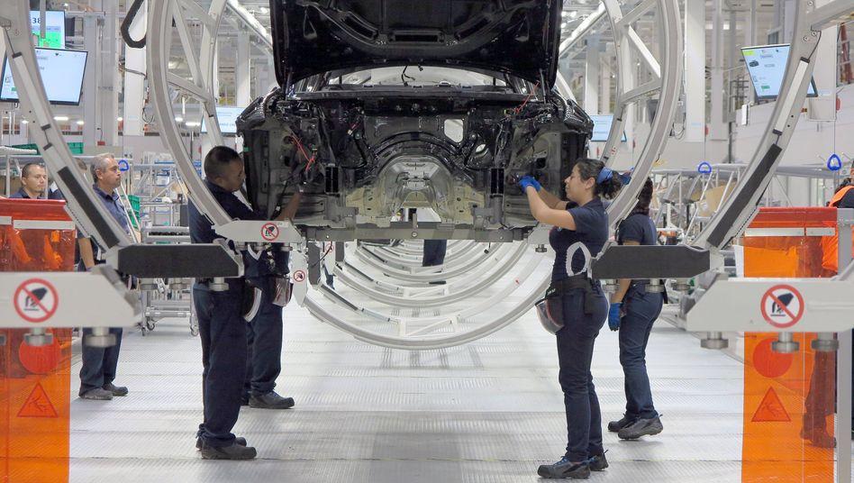 BMW-Produktion für den amerikanischen Markt im mexikanischen San Luis Potosi (Archivbild, 2019)