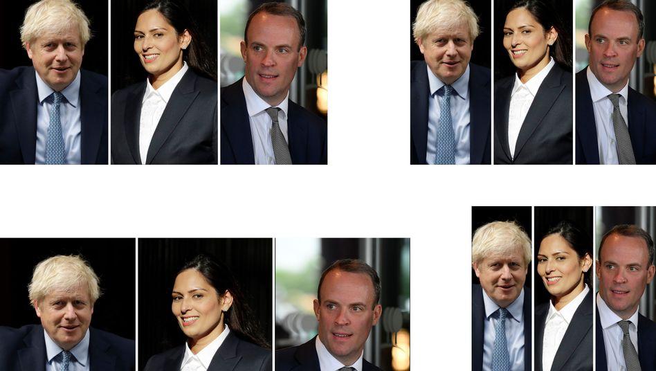Tory-Hardliner: Boris Johnson, Priti Patel, Dominic Raab