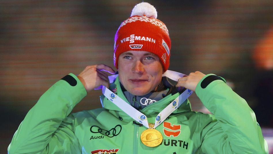Biathlon-Weltmeister Benedikt Doll