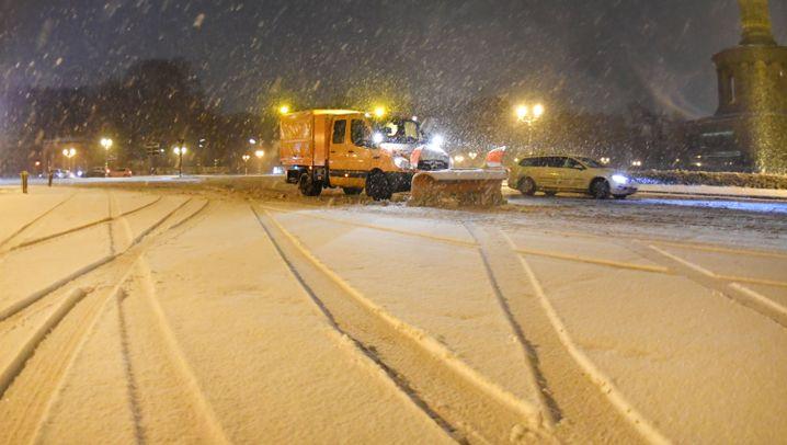 Fotostrecke: Wintereinbruch in Deutschland