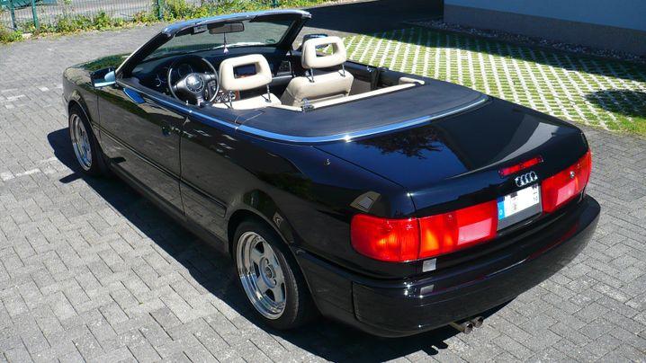 Ein schöner Rücken kann schon entzücken: Audi Cabriolet