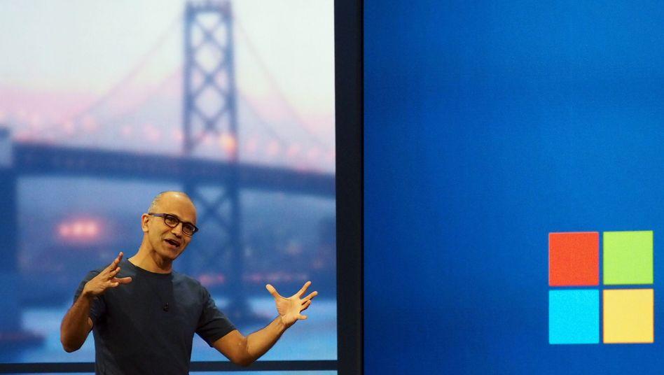 """Microsoft-Chef Satya Nadella: """"Eine neue Generation von Windows"""""""